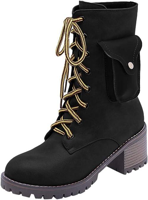 Zapatos de Punto T/érmico Extra C/álido Antideslizante de Invierno para Mujer para Ni/ñas Zapatillas Suaves