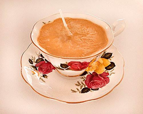 Teacup Candle - Vintage Royal Albert China Cup with