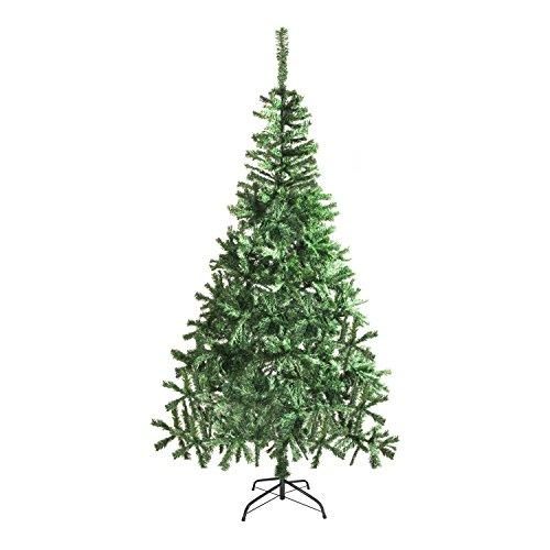 ALEKO CT83H12 Luscious 7 Feet Christmas Tree Artificial Holiday Pine Tree Indoor Holiday Decor