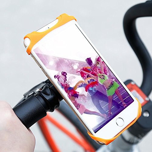 Alloet Baseus Flexible Bicycle Phone Holder Bike Mount Mobile Phone Holder Stand