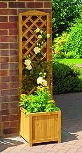 Gardman fsc jardinera con celos a madera - Amazon jardineras ...