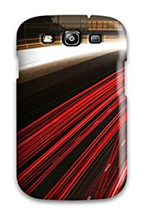 Protective Tpu Case With Fashion Design For Galaxy S3 (landscape Road)
