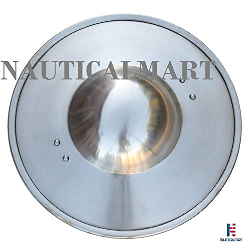 NauticalMart Medieval Swashbucklers Rudimentary 16 Gauge Buckler Shield by NAUTICALMART