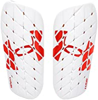 Under Armour Men's Armour Flex Shinguard, White/Red, Medium