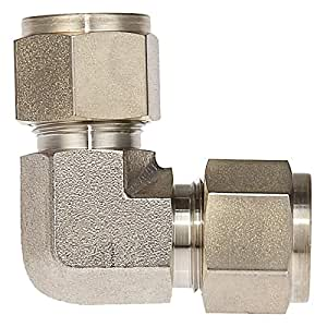 PI Controls UK Union Elbow Pipe Fitting, UNEB-1/2OD-1/2OD