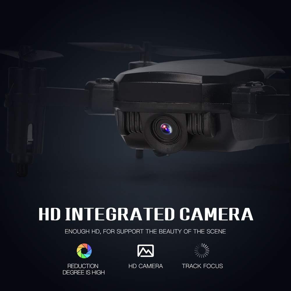 JDRC JD-16 SM M1 0.3mp Camera WiFi Black HDRC D2 Faironly SG800 Mini Drone avec cam/éra H?he Tenue RC Drones avec cam/éra HD WiFi FPV Quadcopter Dron RC VS Z1