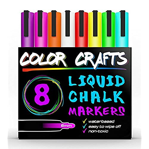extra fine tip chalk marker amazon com