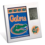 WinCraft NCAA WCR0855811 University of Florida Desk Clock, Black