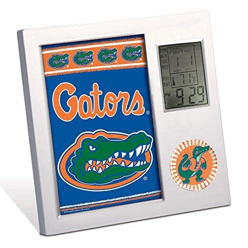 WinCraft NCAA WCR0855811 University of Florida Desk Clock, Black