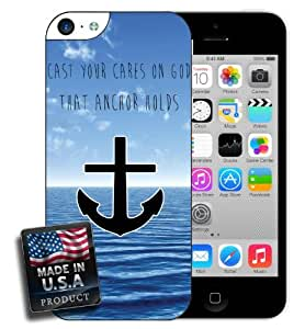 Christian Anchor Quote iPhone 5c Case