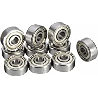 Invento 624ZZ 2 Pieces 4x13x5mm Radial Ball Bearings 3D Printer or Robotics or DIY Projects