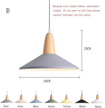 Decoración Lámpara Colgante Led Vitral Lámpara Colgante de Caramelo LED Luces Colgantes Restaurante Cafetería Bar Cocina: Amazon.es: Iluminación