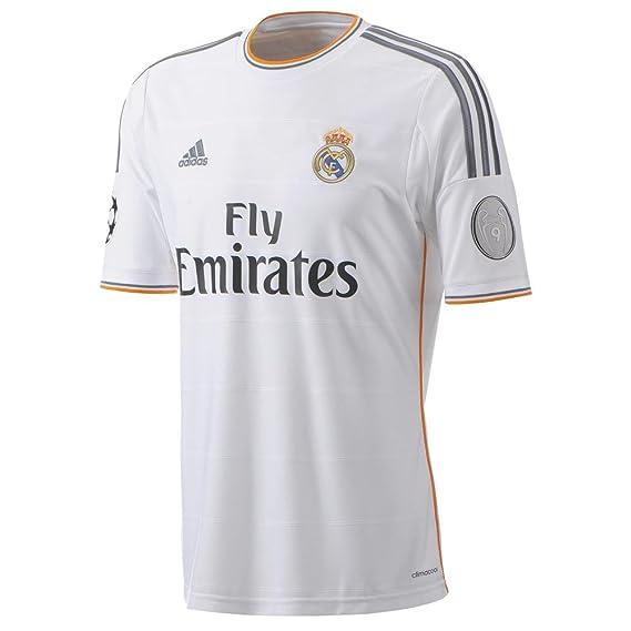 Camiseta Real Madrid Champions 1ª 2013-14: Amazon.es: Deportes y aire libre