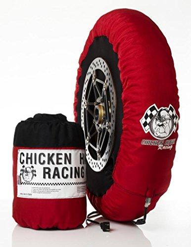 Chicken Hawk Racing 125-STD - Standard - Single Temperature Model Motorcycle Tire Warmers - Front & Rear Set - Fits 125GP/Moto3 (Chicken Hawk Racing Tire Warmers)