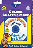Colors, Shapes and More, School Zone Publishing Interactive Staff, 0887436382