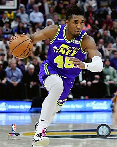 competitive price 0cfa8 2e286 Amazon.com: Donovan Mitchell Utah Jazz 2018-2019 NBA Action ...