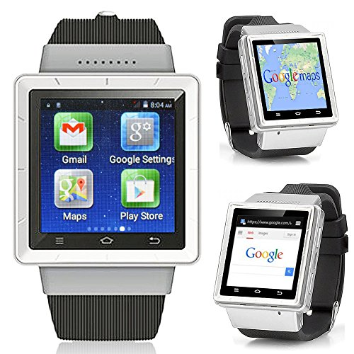 Indigi Android 4.4 Smart Watch Phone (3GWiFi) Google Play Store Unlocked AT&T T-mobile