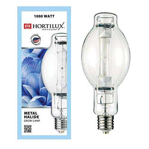 1000 Watt Single Metal Halide Light: Eye Hortilux Metal Halide 1000 Watt Bulb BT37 1000w Lamp