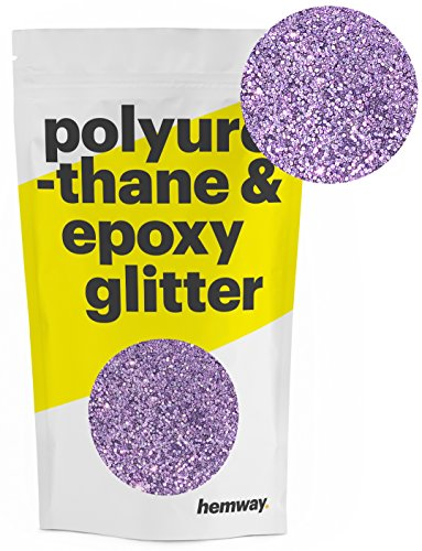 Hemway Metallic Glitter Floor Crystals for Epoxy Resin Flooring (500g) Domestic, Commercial, Industrial - Garage, Basement - Can be used with Internal & External -