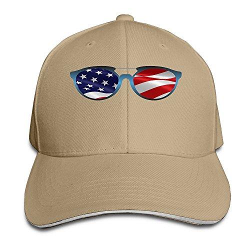 American Flag Sunglasses Women Baseball Cap Plain Adjustable Comfort Caps Hat Peaked Hat - Best To Wear With Cap A Sunglasses Baseball