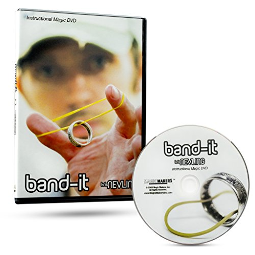 - Band-It Instructional Magic DVD with Magician Kris Nevling - Ultimate Rubber Band & Ring Illusion Magic Trick