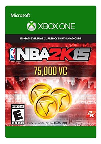 NBA 2K15 - 75,000 Virtual Currency - (Previous Game)- Xbox One Digital Code