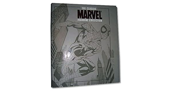 Archivador para 20 revistas de la colección Marvel Figurine Collection: Amazon.es: Juguetes y juegos