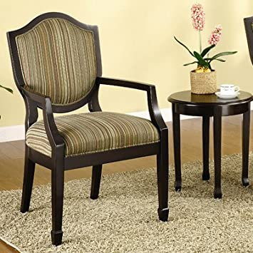 Hokku Designs Bernetta 3 Piece Cotton Arm Chair and Side Table Set