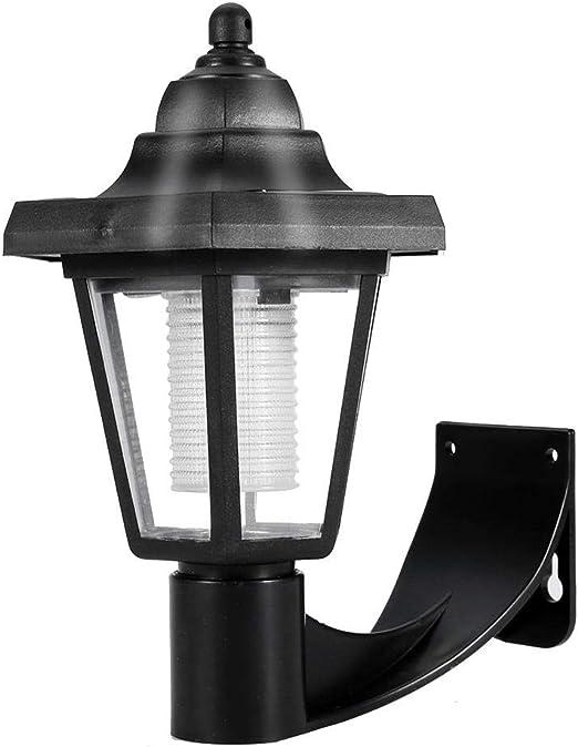 Ichiias Aplique, Solar LED Aplique Luz Exterior para Balcón Patio Jardín: Amazon.es: Hogar
