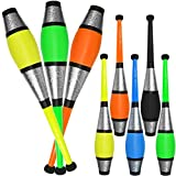 Set Of 3 Jac Products Circus Euro Juggling Clubs (Green/Yellow/Orange)