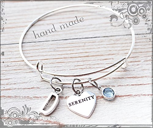 Serenity Bracelet, Sobriety jewelry, best friend jewelry, best friend bracelet, bracelet,serenity jewelry, sober bracelet