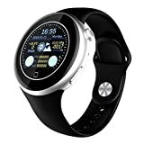 LESHP Bluetooth Smartphone Watch C5 Waterproof Bluetooth 4.0 with Temperature, Air Pressure, Altitude, Heart Rate, Sleep Monitoring, Remote Camera, UV Detection Anti-sweat