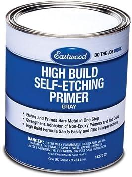 Amazon Com Eastwood High Build Self Etching Primer Gray Gallon For Bare Metal True Acid Etching Formula Automotive