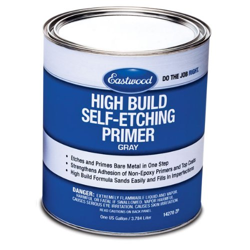 - Eastwood High Build Self Etching Primer Gray Gallon for Bare Metal True Acid-Etching Formula