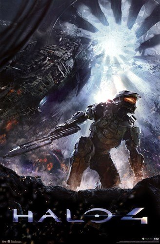 Halo 4 by Unknown - 24x36 Inches - (Halo Master Chief Costume Weapons)