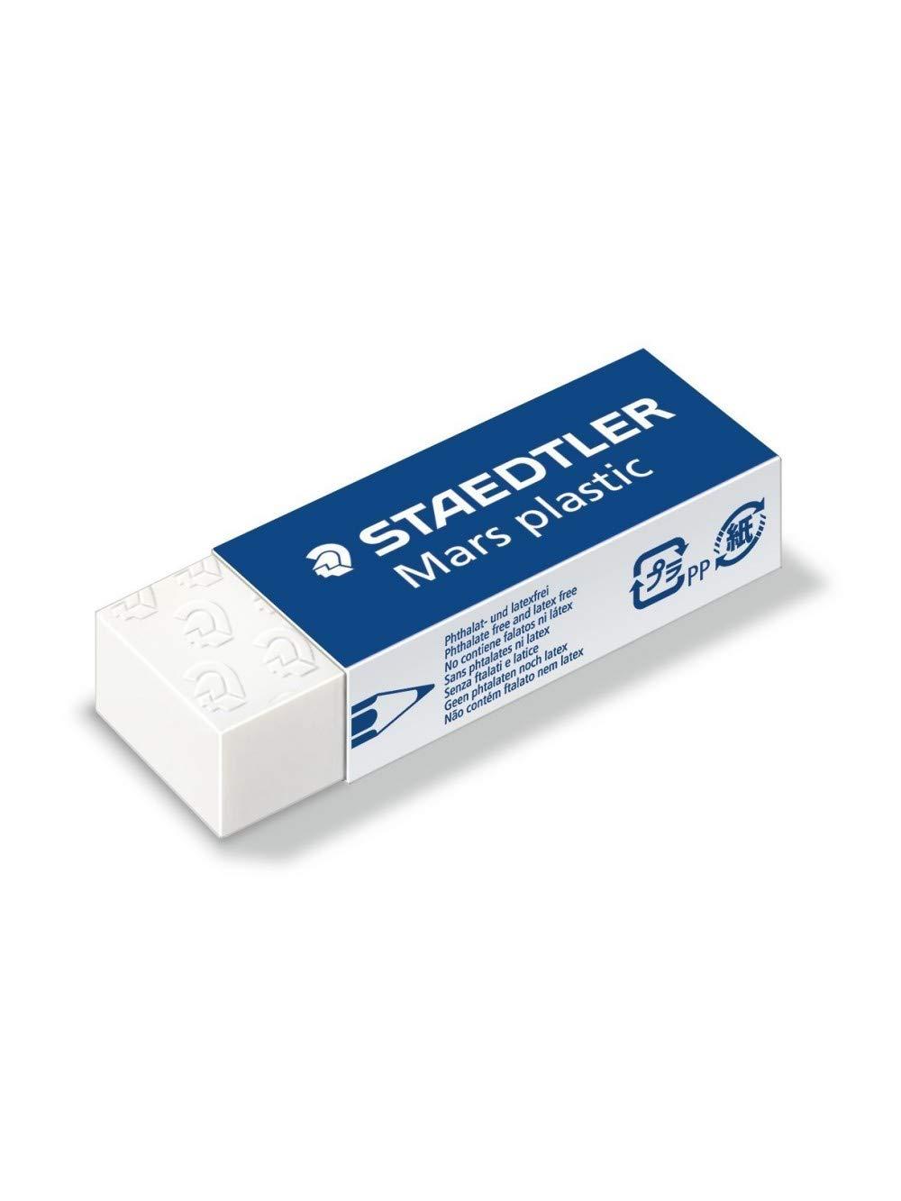Staedtler 088006 Erasers, 20 Pieces,