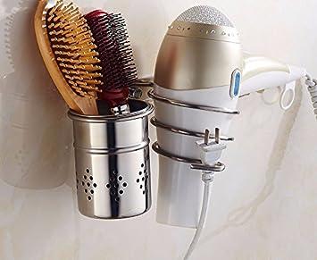 Stazsx 304 edelstahl bad dusche rack wandmontage haar trockner rack