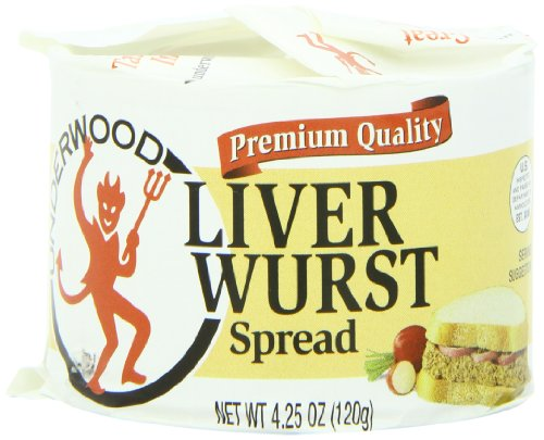(Underwood Liver Wurst Spread, 4.25 Ounce (Pack of)