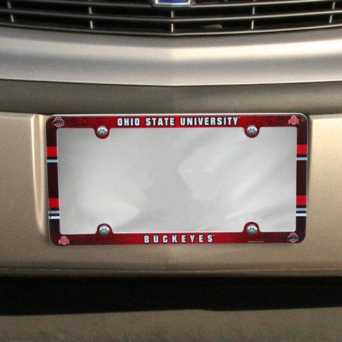 Wincraft NCAA Ohio State Buckeyes Plastic License Plate -