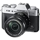 Fujifilm X-T20 Mirrorless Digital Camera w/XC16-50mmF3.5-5.6 OISII Lens - Silver (Certified Refurbished)