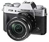 Fujifilm X-T20 Mirrorless Digital Camera w/XC16-50mmF3.5-5.6 OISII Lens – Silver (Certified Refurbished)