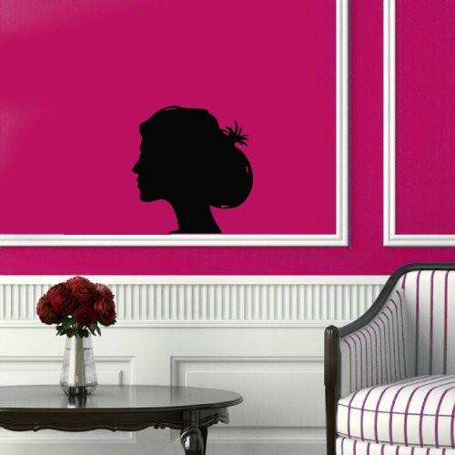 Wall Vinyl Sticker Decal Art Design Girl Hairstyles Beauty Saloon Room Nice Picture Decor Hall Wall (Saloon Girl Hairstyles)