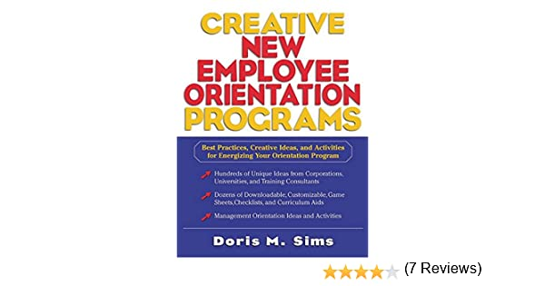 Amazon.com: Creative New Employee Orientation Programs: Best ...