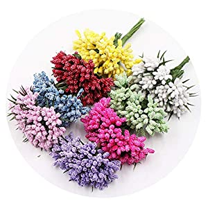 Zalin Foam Artificial Flowers Bouquet Wedding Home Decoration DIY Handmade Fake Flower 27