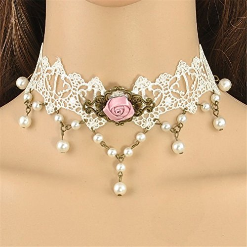 fashion-jewelry-lace-faux-pearl-beads-choker-collar-statement-pendant-necklace-f