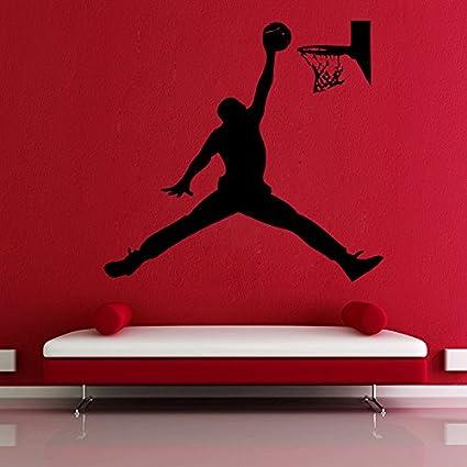 eb093b225423 Buy Decor Villa Let s Basketball Wall Sticker   Decal (PVC Vinyl ...