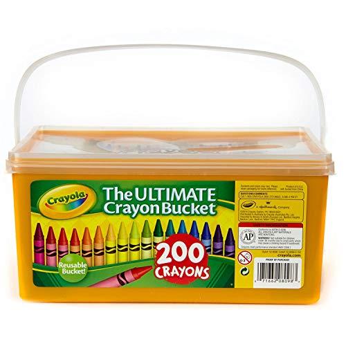 Crayola Ultimate Crayon Bucket 200 -