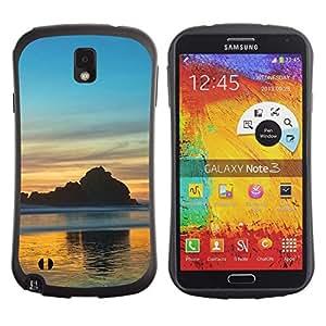 Suave TPU GEL Carcasa Funda Silicona Blando Estuche Caso de protección (para) Samsung Note 3 / CECELL Phone case / / Nature Beautiful Forrest Green 66 /