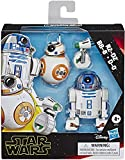 "Star Wars Galaxy of Adventures R2-D2, BB-8, D-O Action Figure 3 Pack, 5"" Scale Droid Toys with Fun Action Features, Kids Ages 4 & Up"