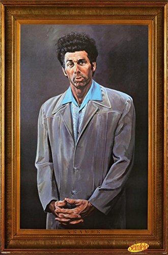 Seinfeld Kramer Faux Frame Poster Print